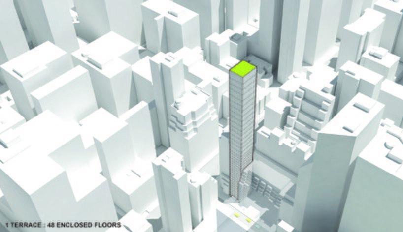 ODA architecture adds gardens between split floors