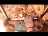 СТОЛ МОЛНИЯ.(Часть 2 - ножки из труб) Как сделать светящийся стол из эпоксидной. Подробная инструкция!