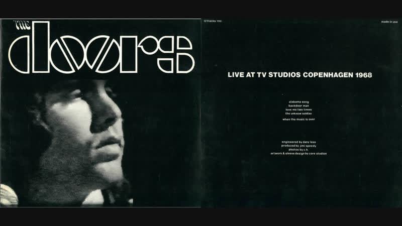 The Doors – Live Danish Radio Television Special, TV-Byen Søborg, DR2, TV | DR, Gladsaxe, Denmark (18.09.1968)