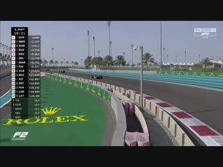 GP2 2018. Round12. Abu Dhabi. Race2