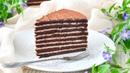 Торт СПАРТАК ☆ Шоколадный МЕДОВИК с заварным СМЕТАННЫМ кремом