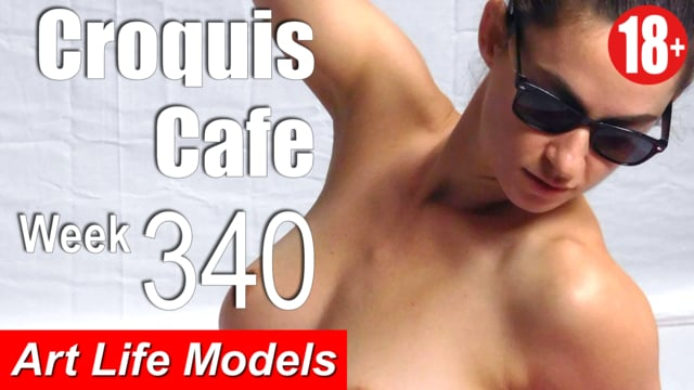 Croquis Cafe Figure Drawing Resource No. 340