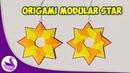 Звезда Модульное Оригами Инструкция