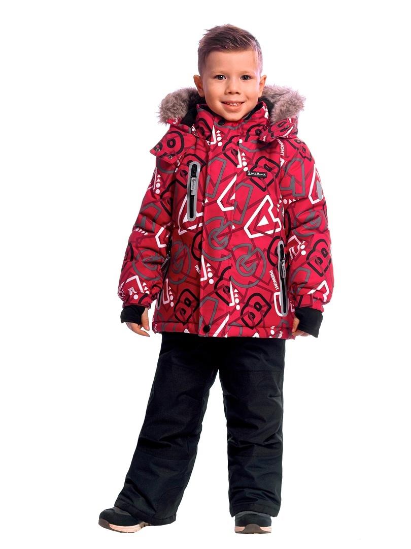 WP92260 RED Комплект зимний: куртка и брюки