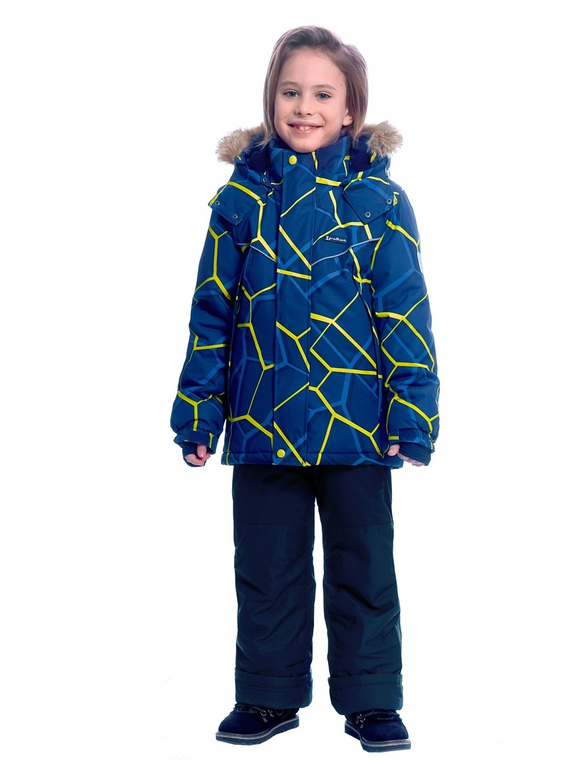 WP92261 BLUE Комплект зимний: куртка и брюки