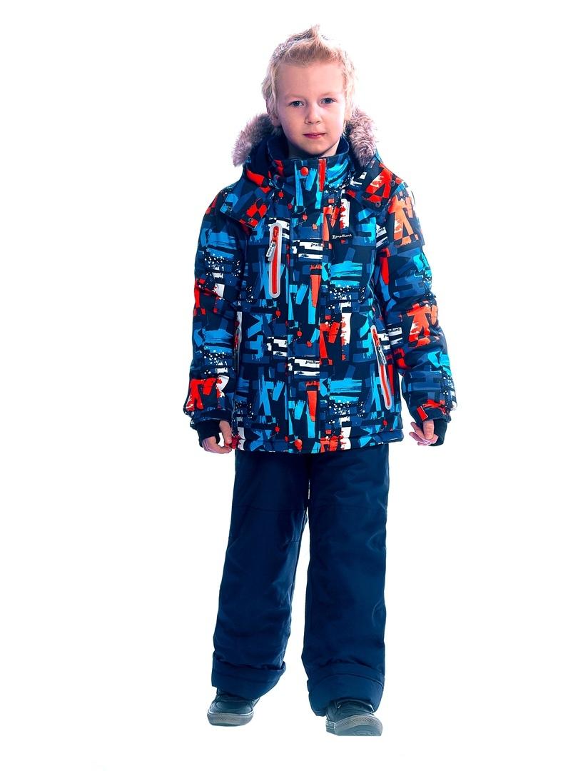 WP92262 BLUE Комплект зимний: куртка и брюки