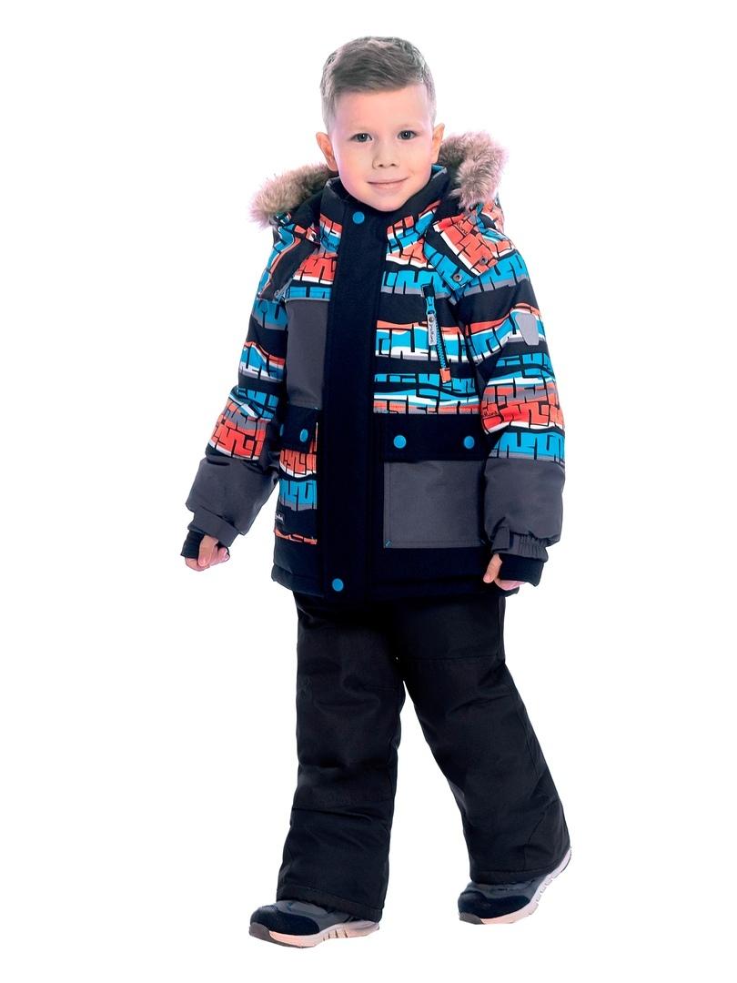WP92263 GREY Комплект зимний: куртка и брюки