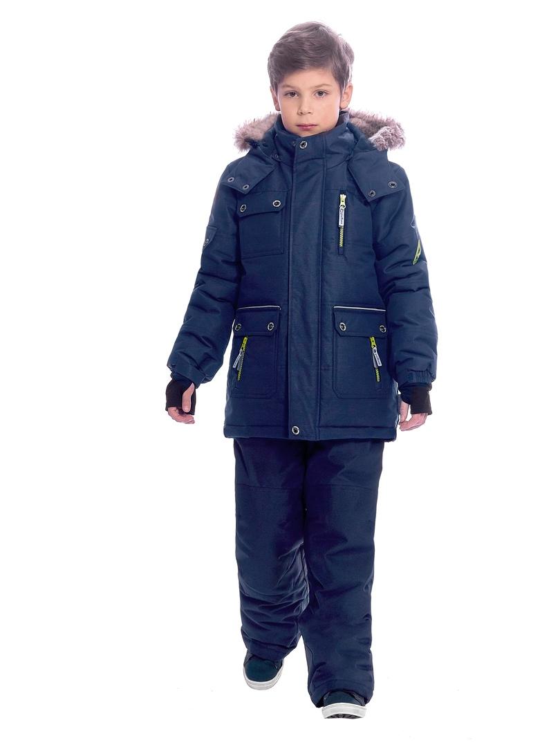 WP92265 BLUE Комплект зимний: куртка и брюки