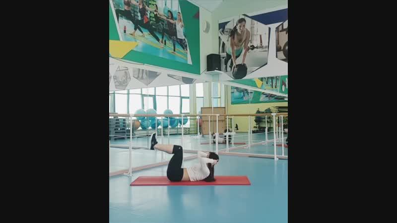 Комплекс упражнений на пресс от Виктории Кульматицкой