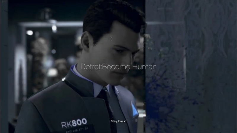 Connor Detrot:Become Human Halsey-Gasoline