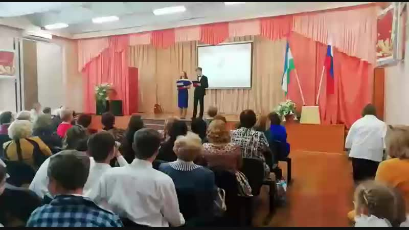 Выступление в школе Арины Волостновой