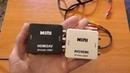 Как подключить hdmi к старому телевизору переходник с HDMI2AV и переходник AV2HDMI