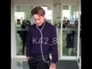 Fancam 180923 @ airport / Kai
