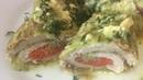 Куриная грудка в капустных листьях рулетики Готовим с Инной