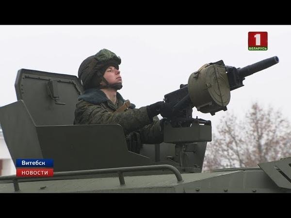 Бронированные машины Кайман поступили на вооружение витебским десантникам