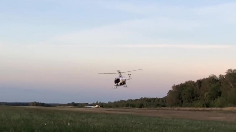 Вертолет Касатка 505. Первый полет.
