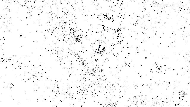 3D карта и движение галактик. Положение Млечного пути.