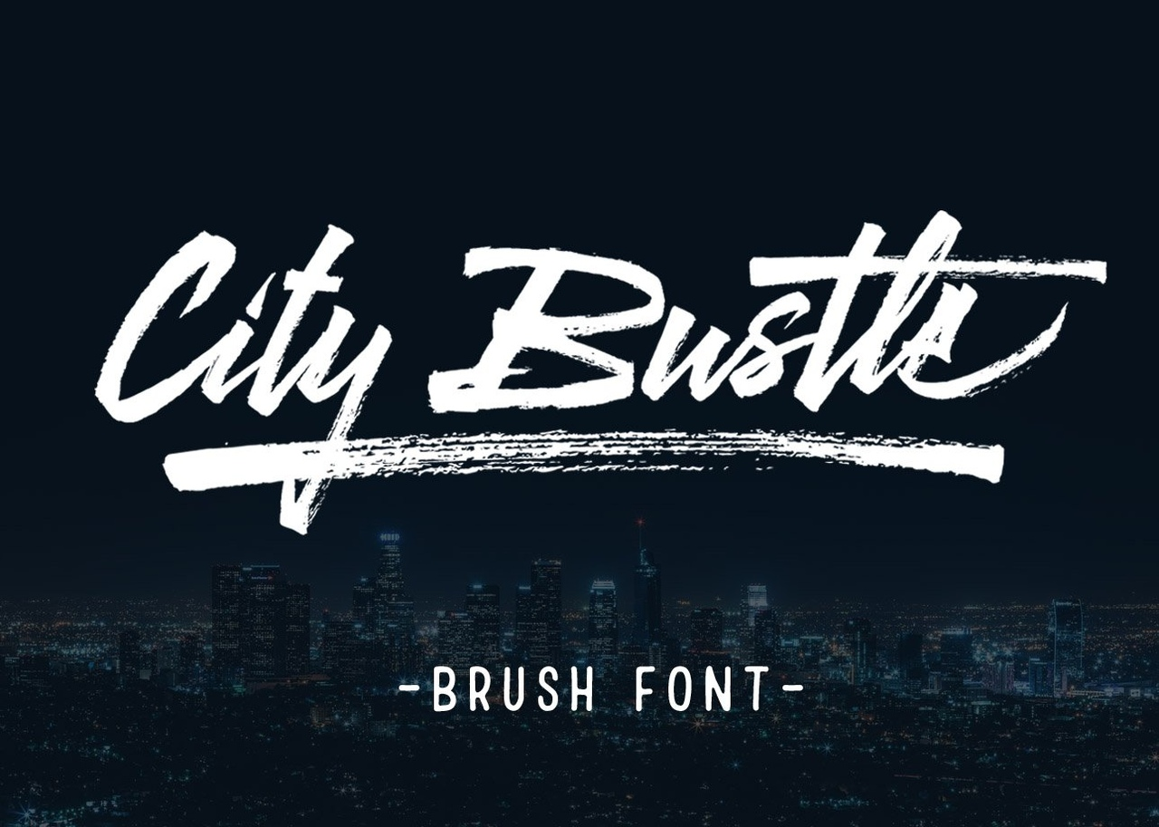 Шрифт - City Bustle