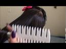 Como usar pente separdor de mechas By Meiri Vargas