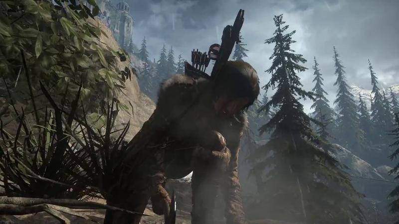 Rise of the Tomb Raider 42 Продолжаем Классная Охота Оборонительная Стратегия