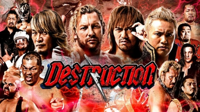 NJPW Destruction 2018 In Hiroshima (2018.09.15)