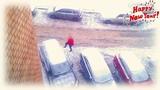 🎅Дед Мороз разбушевался и ломает чей-то Ленд Крузер🤜💥🚘