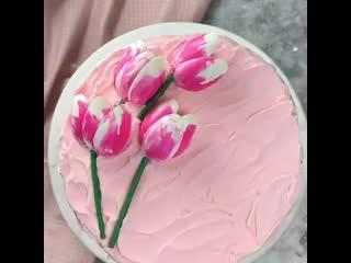 Как сделать тюльпаны из шоколада. / Наша группа в ВК: