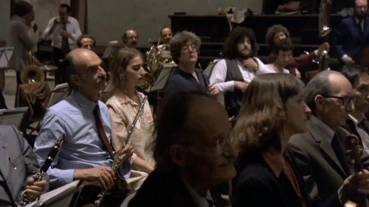 Federico Fellini 1978 Prova d'orchestra Репетиция оркестра