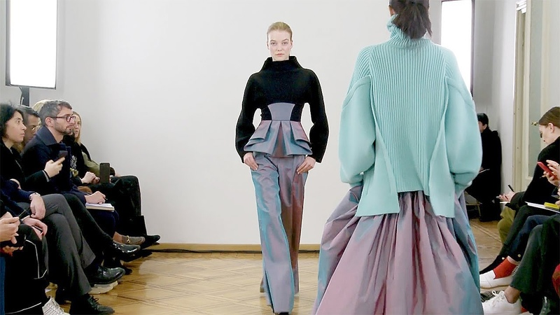 Antonio Berardi | Fall Winter 20182019 Full Fashion Show | Exclusive