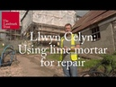 Using lime mortar for repair at a medieval hall house The Landmark Trust