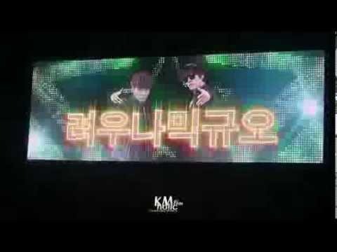 [FANCAM] 131228 SMTown Week SJ Kyuhyun, Ryeowook vocal line RAP