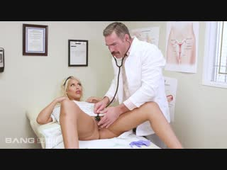 Bridgette b - gets tricked into a prescription of dick at the doctor's office (2018-11-16)  #blonde, #latina, #big #tits, #big #