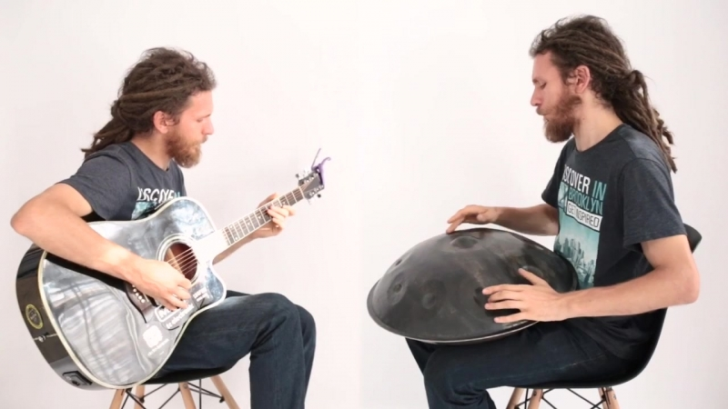 OMana handpan guitar improvisation by Pasha Aeon