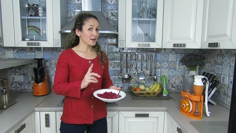 Салат Метла при помощи кухонного комбайна Mixsy от Zepter