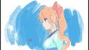 Daily Doodle - Lolita Anime Sketch in Krita ✍️ 📅 👍