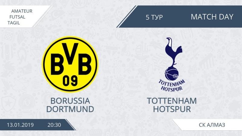 13 01 2019 Borussia Tottenham Hotspur лучшие моменты