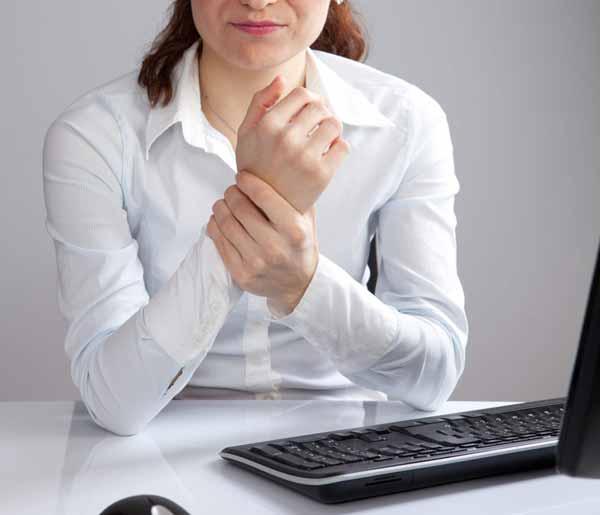 Лечение тендонитаю Делайте перерывы в работе
