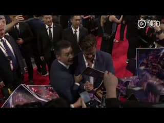 The premiere of the #avengersendgame fan event at the oriental sports center in shanghai, china, april 18, 2019