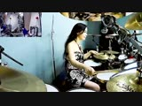 Nightwish - Wish I had an angel drum cover by Ami Kim
