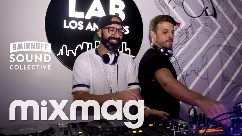CHUS CEBALLOS rollin' house and tech set in The Lab LA
