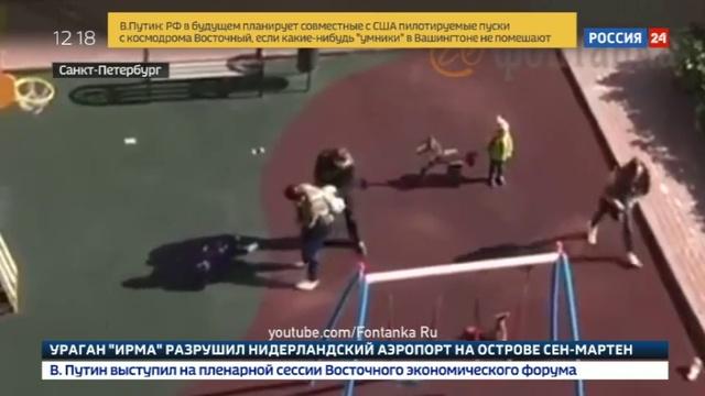 Новости на Россия 24 • Даму с собачкой поместили в обезьянник
