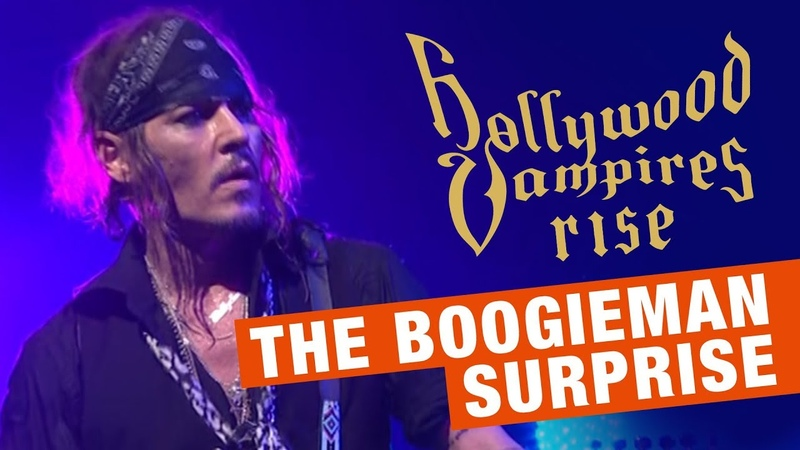 Hollywood Vampires The Boogieman Surprise (Live) Official Video - Album Rise out June 21st