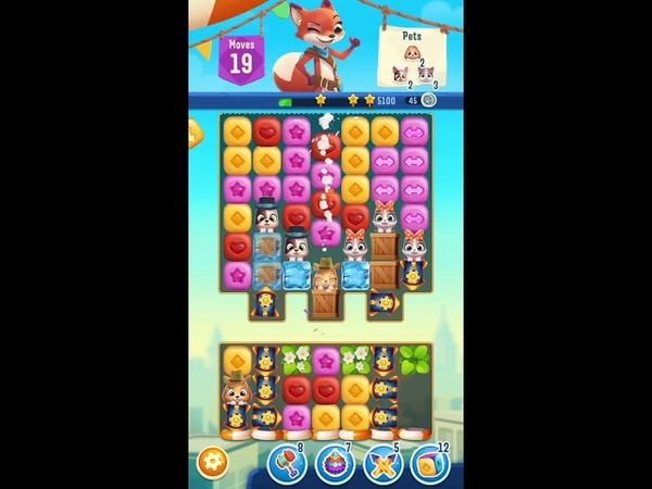 Pet Rescue Puzzle Saga Level 265 Gameplay iOS Android