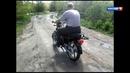 практика на мотоцикле RACER 110 n