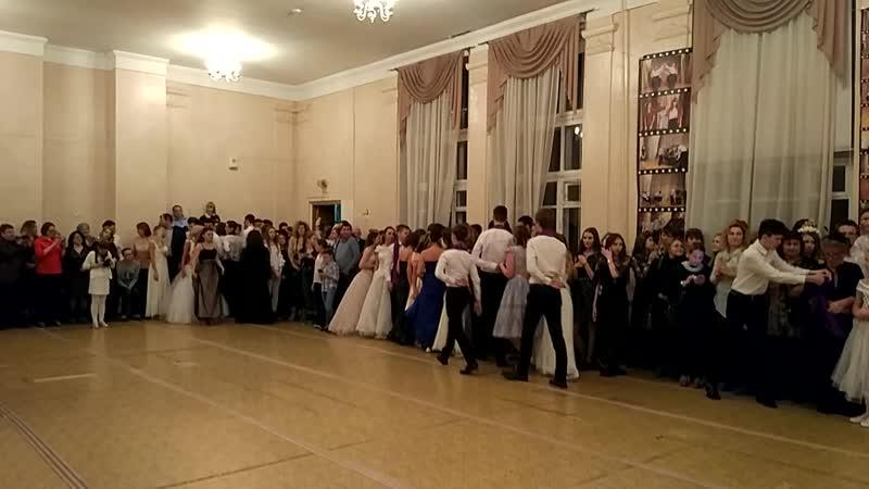 Осенний бал. Танец родителей и ученников. 63 гимназия с любовью навсегда ❤️❤️❤️