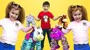 Игрушки ПРУЖИНОЖКИ для малышей. Видео для детей. НЕОБЫЧНЫЕ игрушки