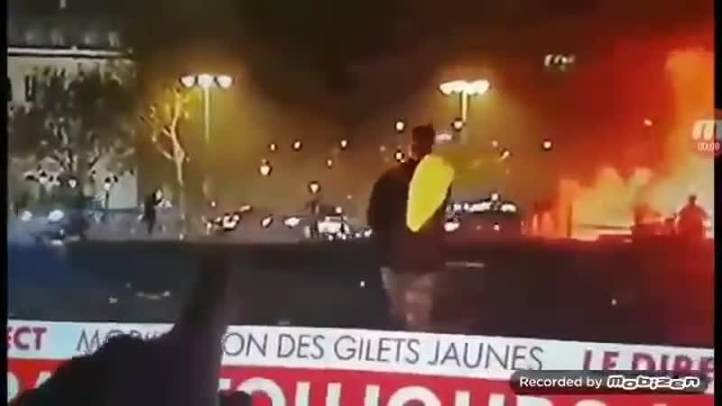 Sniper erschiesst GelbWeste