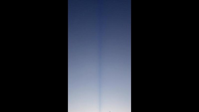 Тёмная полоса идущая от Останкинской башни (V_20181015_165048)