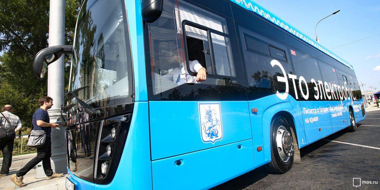 По Алтуфьевскому шоссе пустят 4 новых электробуса