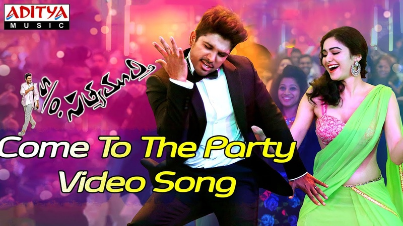 Come To The Party Video Song - So Satyamurthy Video Songs - Allu Arjun, Samantha,Adah sharma